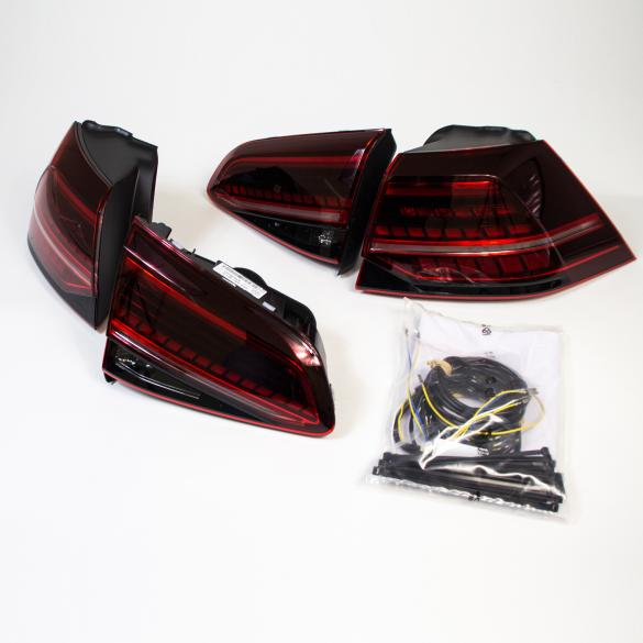LED rear light Set VW Golf 7 VII R facelift genuine Volkswagen upgrade kit