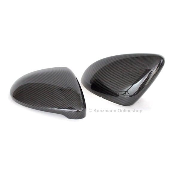 vw golf 7 vii spiegelkappen au enspiegel carbon echtcarbon. Black Bedroom Furniture Sets. Home Design Ideas