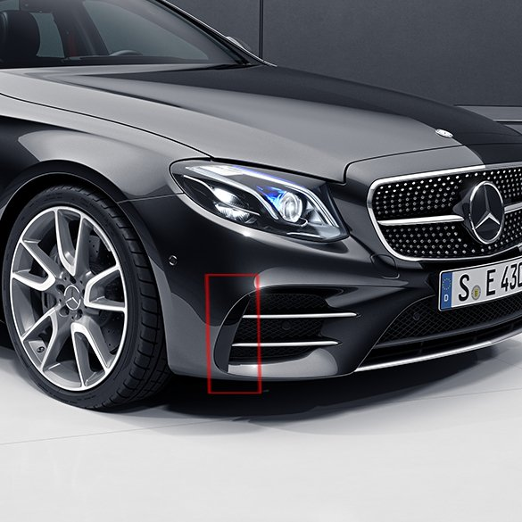 e 43 amg flaps front bumper e class w213 genuine mercedes benz. Black Bedroom Furniture Sets. Home Design Ideas