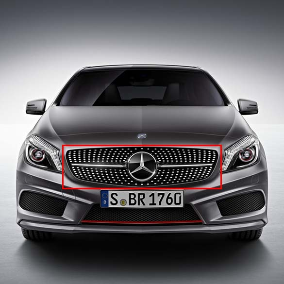 diamond radiator grille A-Class W176 Genuine Mercedes-Benz