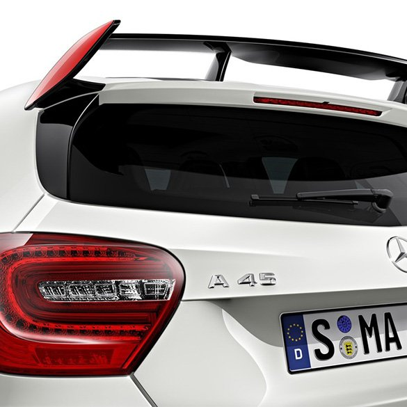 a45 amg edition 1 heckfl gel spoiler zierstreifen. Black Bedroom Furniture Sets. Home Design Ideas