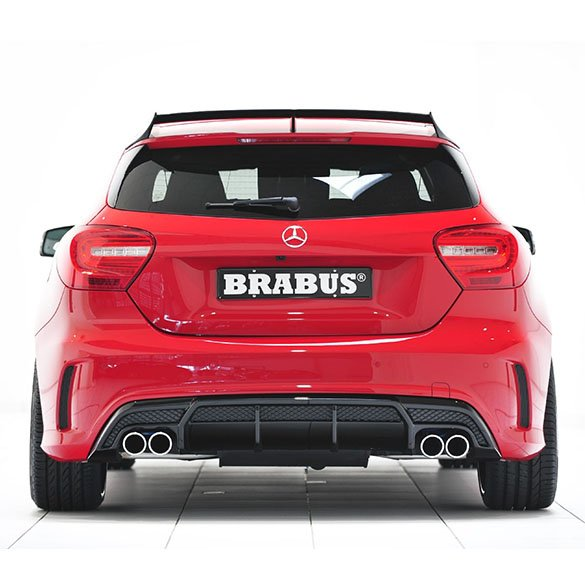 brabus sports exhaust mercedes benz a klasse w176. Black Bedroom Furniture Sets. Home Design Ideas