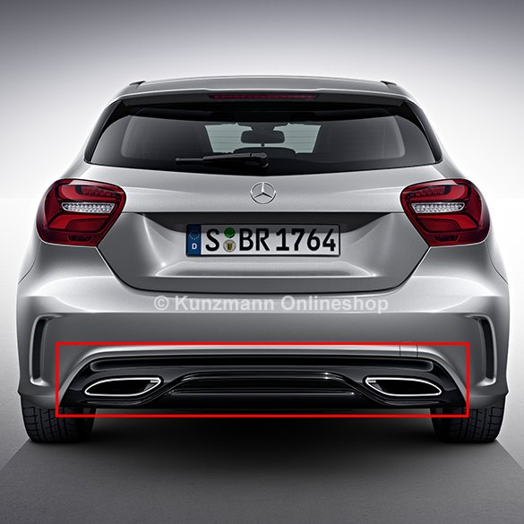 Facelift Diffusor A-Class W176 AMG Styling Original