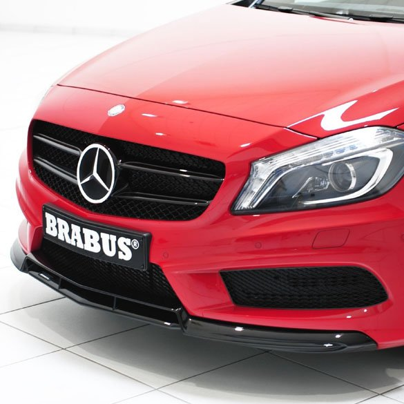 brabus frontspoiler mit amg paket mercedes benz a klasse w176. Black Bedroom Furniture Sets. Home Design Ideas
