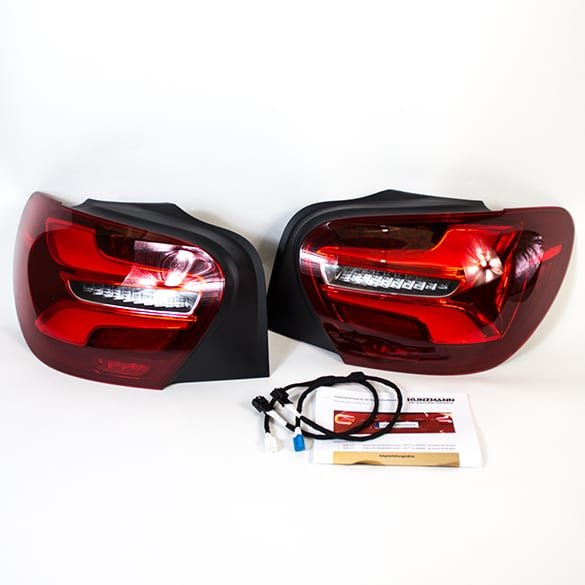 LED facelift rear light set A-Class W176 genuine Mercedes-Benz