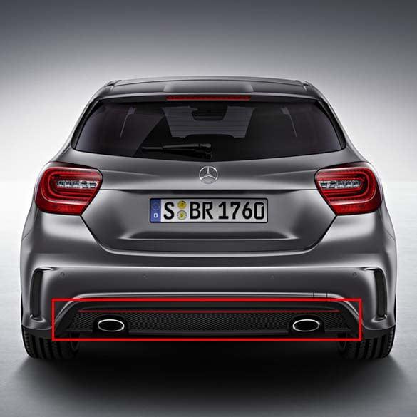 Mercedes Benz Sport: Original A 250 Sport AMG Heckdiffusor Diffusor A-Klasse