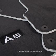 für Audi Fußmatten 117456104 u.a Schwarz PetexPassform Fußmatte velour