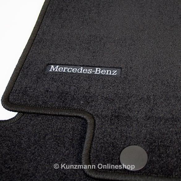 Original Mercedes-Benz Velours Fußmatten A-Klasse W168 schwarz Satz NEU