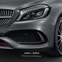 AMG air intakes A-Class W176 Original Mercedes-Benz