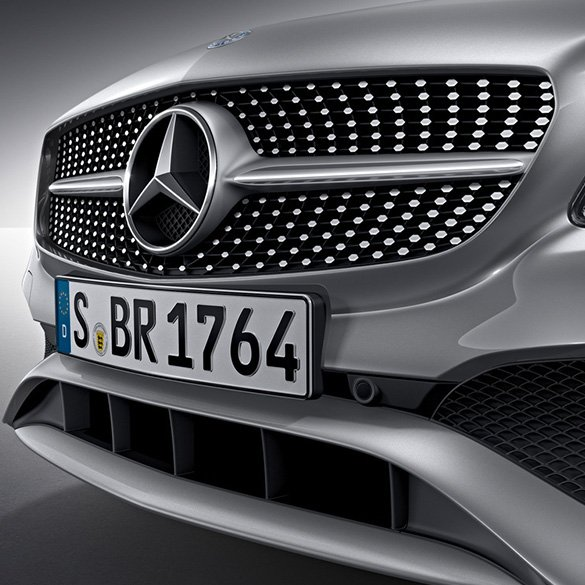 Diamant Kühlergrill Chrom-Pins A-Klasse W176 Facelift Original Mercedes-Benz