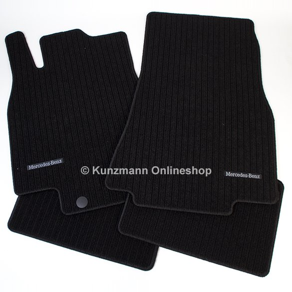 car rib floor mats mercedes b class w245 original mercedes benz. Black Bedroom Furniture Sets. Home Design Ideas