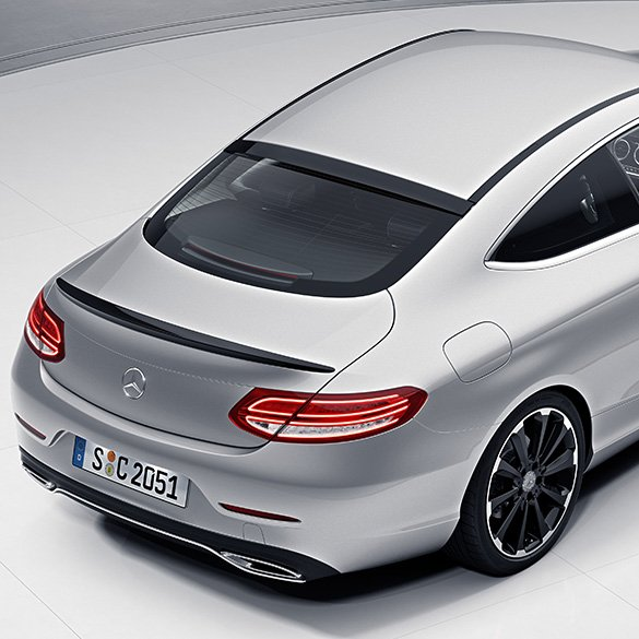 Rear Spoiler C Class Coupe C205 Genuine Mercedes Benz