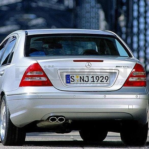 Hecksch 252 Rze Spoiler C Klasse W203 Original Mercedes