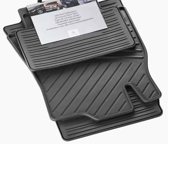 gummimatten satz c klasse w203 original mercedes benz. Black Bedroom Furniture Sets. Home Design Ideas