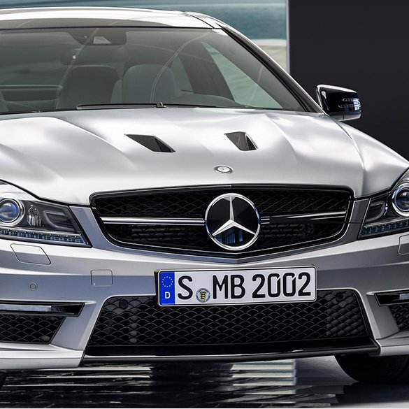 c63 amg edition 507 k hlergrill c klasse w204 schwarz. Black Bedroom Furniture Sets. Home Design Ideas