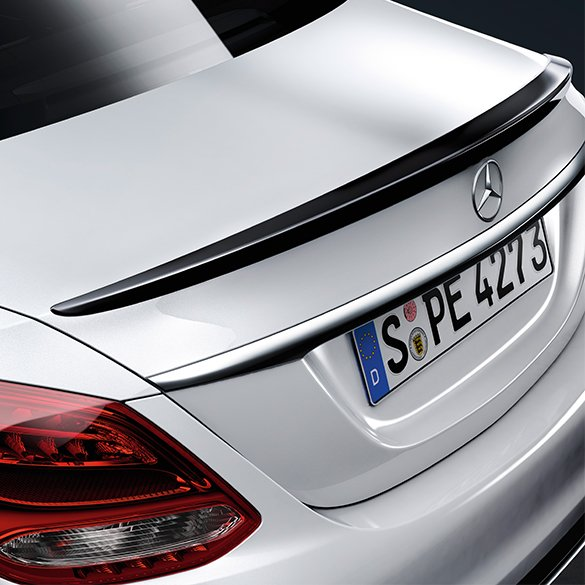 rear spoiler c class w205 genuine mercedes benz sport. Black Bedroom Furniture Sets. Home Design Ideas