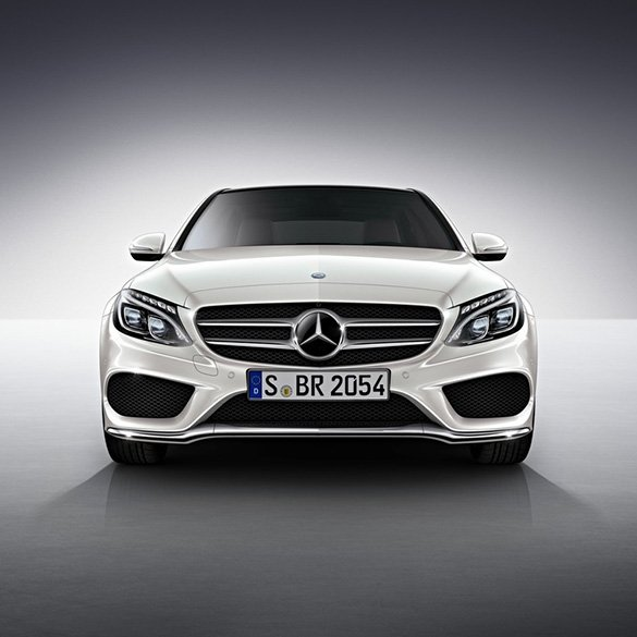 amg styling front bumper c class w205 genuine mercedes. Black Bedroom Furniture Sets. Home Design Ideas