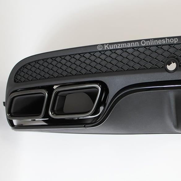C 63 amg diffusor c klasse w205 nachr stung original for Promo code for mercedes benz accessories