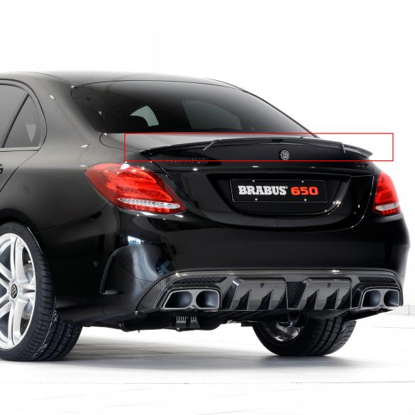 brabus carbon heckspoiler c63 amg limousine mercedes. Black Bedroom Furniture Sets. Home Design Ideas