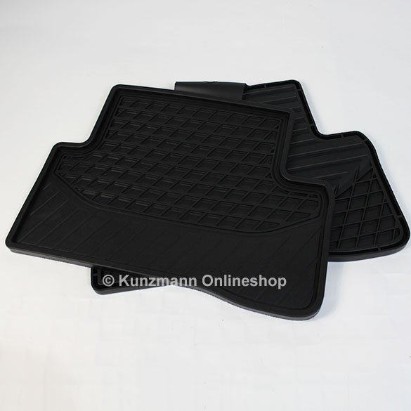 Original mercedes benz rubber floor mats c class w205 for Genuine mercedes benz floor mats