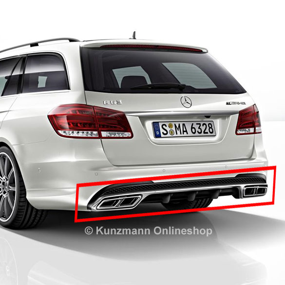 E63 Amg Diffusor E Class W212 Genuine Mercedes Benz