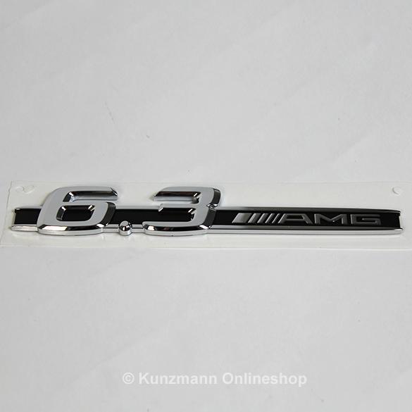 6 3 amg schriftzug emblem typenschild kotfl gel for Mercedes benz amg emblem