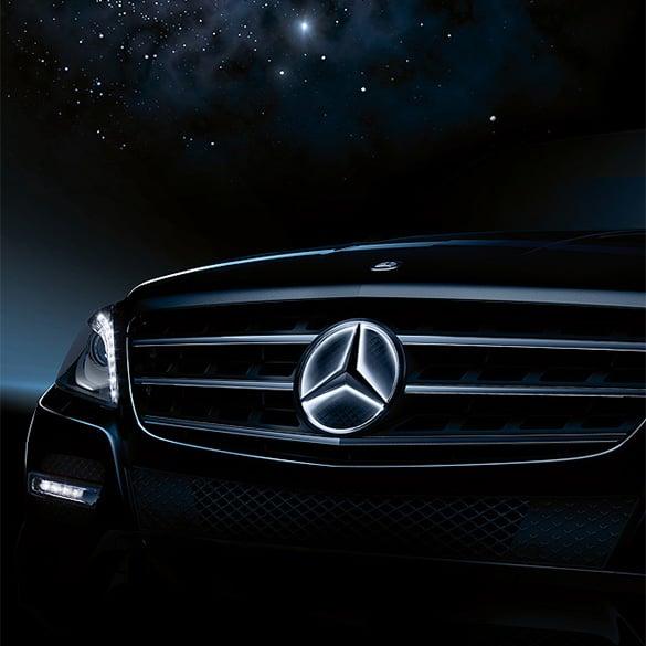 Mercedes stern beleuchtet led technik e klasse w212 for Mercedes benz original