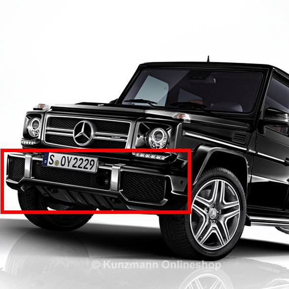 g 63 65 amg frontsch rze g klasse w463 original mercedes benz mit pdc. Black Bedroom Furniture Sets. Home Design Ideas