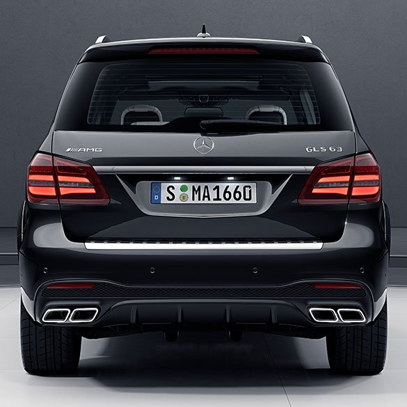 Gls 63 Amg Exhaust Tips Diffusor Gls Suv X166 Facelift