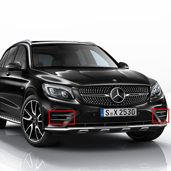 glc 43 amg air intake glc x253 genuine mercedes benz. Black Bedroom Furniture Sets. Home Design Ideas