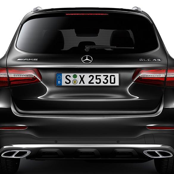Amg logo glc 253 genuine mercedes benz for Mercedes benz amg logo