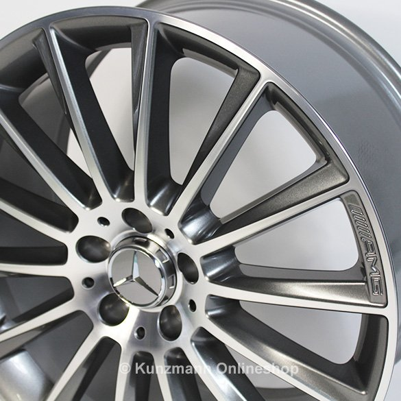 Amg 20 inch wheel set glc x253 c253 multi spoke wheel for Mercedes benz 20 inch wheels