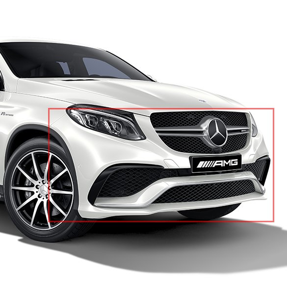 Gle 63 Amg Coupe Front Bumper Gle Coupe C292 Genuine Mercedes Benz