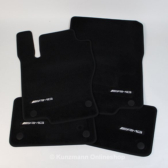Amg Floor Mats Black Gle Coup 233 C292 Genuine Mercedes Benz
