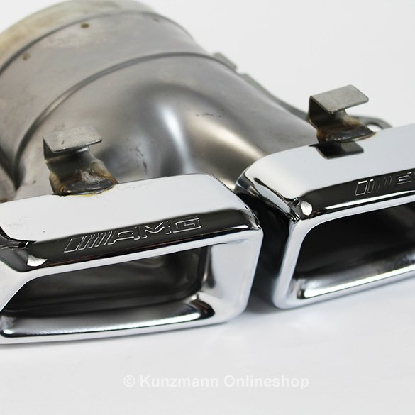 Amg Exhaust Tailpipes Mercedes Benz M Class Ml W166
