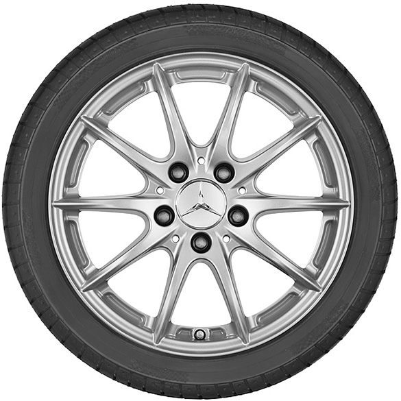 17 Inch Rim Set 10 Spoke Wheel Gle W166 Original Mercedes Benz