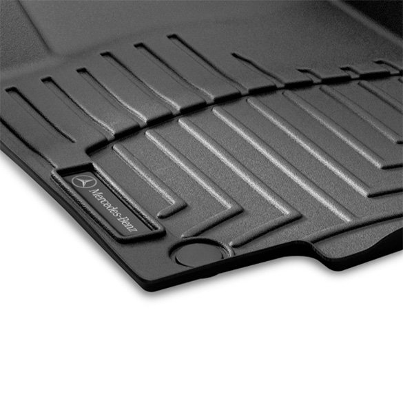 Car Rubber Floor Mats Mercedes Ml Class W166 Original Mercedes Benz