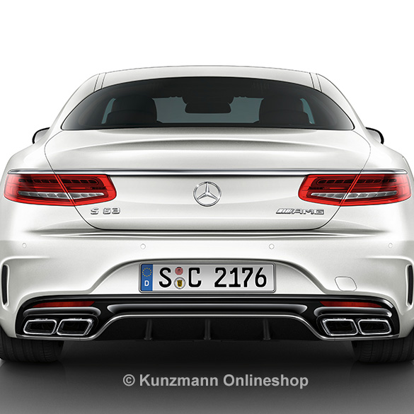 s63 amg diffusor s class coup c217 genuine mercedes benz. Black Bedroom Furniture Sets. Home Design Ideas