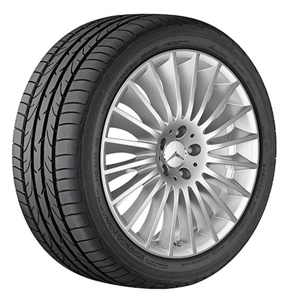 Mercedes Benz Original Rims: 19 Inch Rim Set Multispoke Wheel S-Class W222 Original