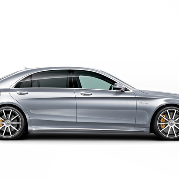 S 63 amg side skirts s class w222 original mercedes benz for Mercedes benz interest rates