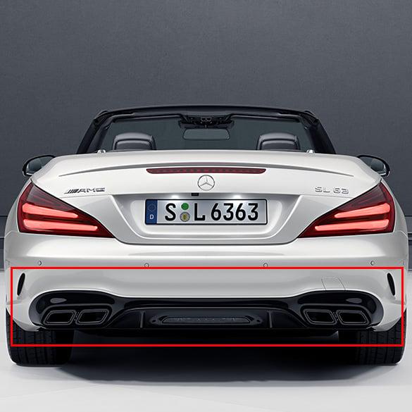 Sl 63 65 Amg Facelift Diffusor Sl R231 Original Mercedes