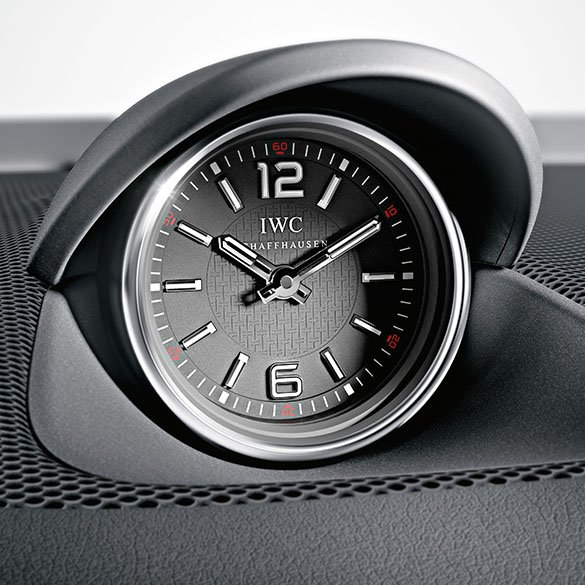 slk 55 amg iwc analog clock slk r172 original mercedes. Black Bedroom Furniture Sets. Home Design Ideas