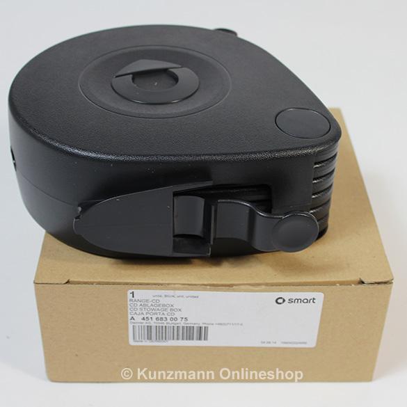 cd box halter f r 6 cds smart 451 original smart zubeh r. Black Bedroom Furniture Sets. Home Design Ideas