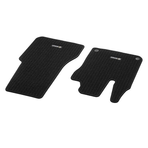 Original Smart fortwo 453 Allwettermatten Fußmatten 2-teilig NEU