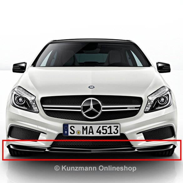 A 45 AMG Frontspoiler Lippe Night-Paket Original Mercedes-Benz