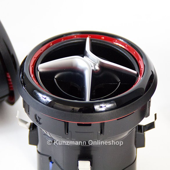 Amg Air Vents Red A Class W176 Genuine Mercedes Benz