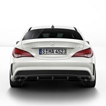 CLA 45 AMG diffusor package with exhaust Tips | CLA W117 | genuine Mercedes-Benz
