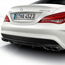 Image CLA 45 AMG diffusor package with exhaust Tips | Night Package | CLA W117 | genuine Mercedes-Benz