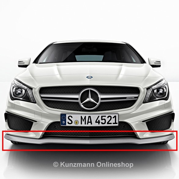cla 45 amg frontspoiler lippe standard original mercedes benz. Black Bedroom Furniture Sets. Home Design Ideas