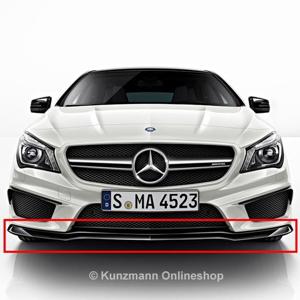 Cla 45 amg frontspoiler lippe night paket original for Mercedes benz original